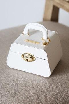 【先行予約12月中旬お届け】バッグ型ジュエリーボックス