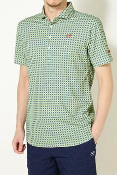 プレミアムTEX MINIR カラードットパターンポロシャツ(MENS)