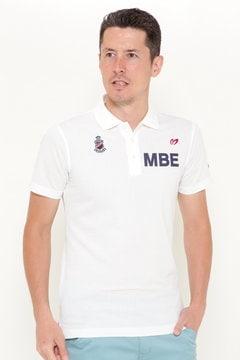 デラヴェブサッカーストライプ 半袖ポロシャツ