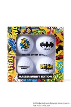 BATMAN ボール4個セット <MASTER BUNNY EDITION & BATMAN> (UNISEX)