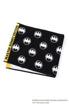 BATMAN ロゴ ロングタオル <MASTER BUNNY EDITION & BATMAN> (UNISEX)