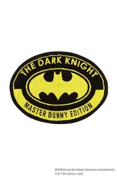 BATMANロゴ 丸型タオル <MASTER BUNNY EDITION & BATMAN> (UNISEX)