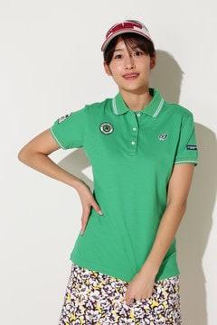 クールマックスカノコ ワッペンポロシャツ(WOMENS)