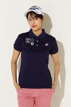 クールマックス鹿の子 半袖ポロシャツ(LADIES)