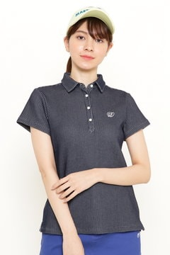 ポップコーンワッフル 半袖ポロシャツ