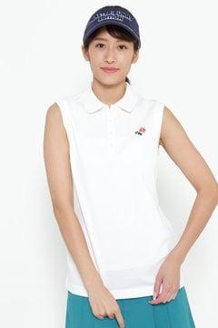 ソアリア50 × エアロタッシュ ノースリーブ ポロシャツ