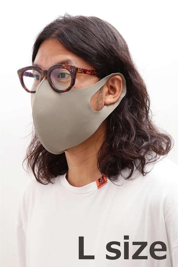 洗える立体マスク(グレージュ)