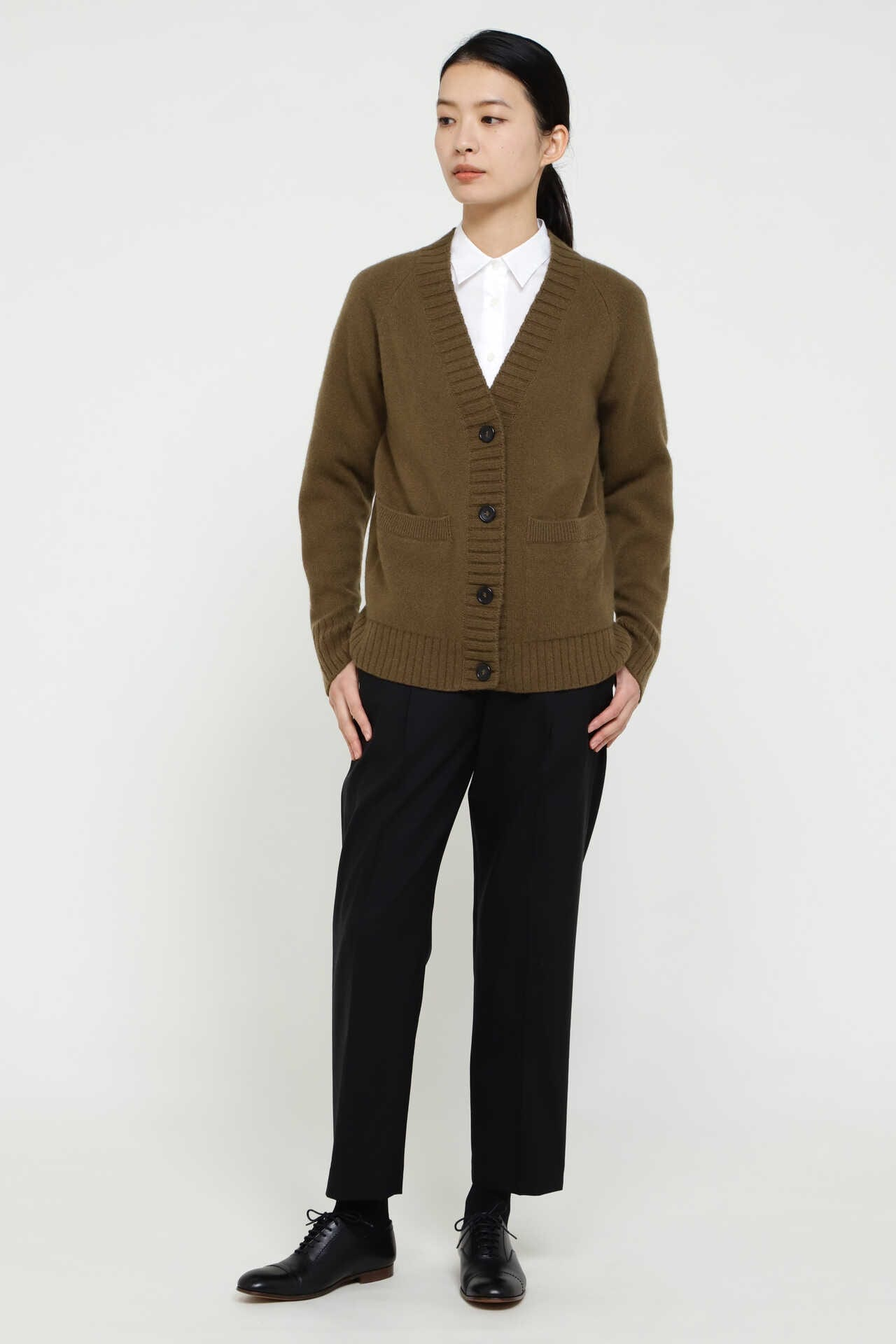 TWISTED CASHMERE WOOL CARDIGAN9