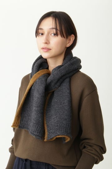 TWO COLOUR SCARF_023
