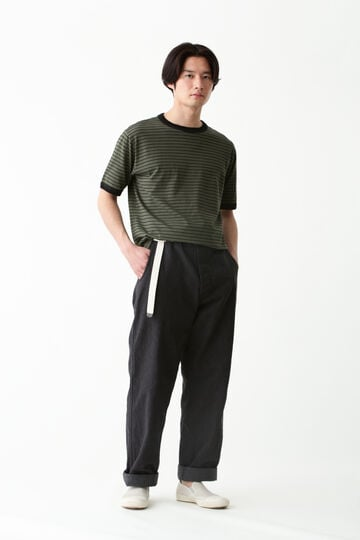 COTTON LINEN STRIPE JERSEY_180
