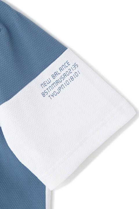 ストレッチ変形カノコ 半袖 ポロシャツ (MENS SPORT)