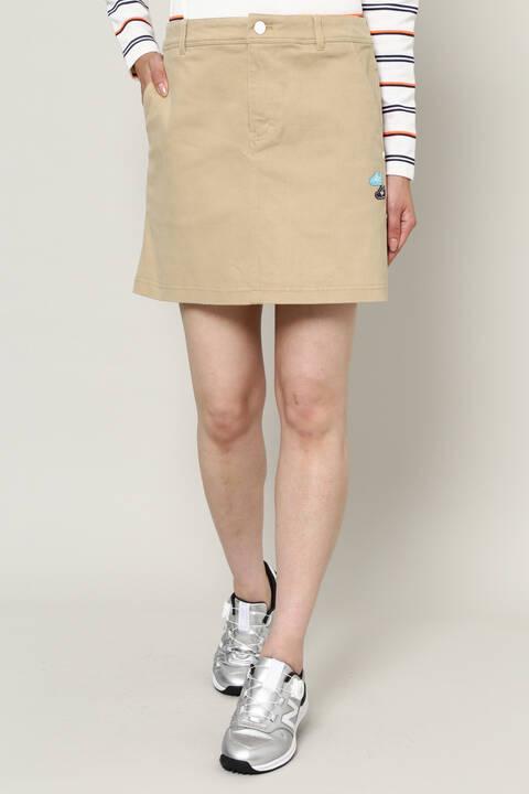 ストレッチ サテンピーチ スカート (WOMENS METRO)