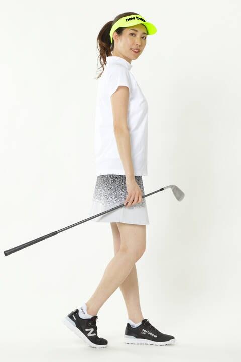 ダブルピケニッティング ダブルジャカード ニットスカート (WOMENS SPORT)