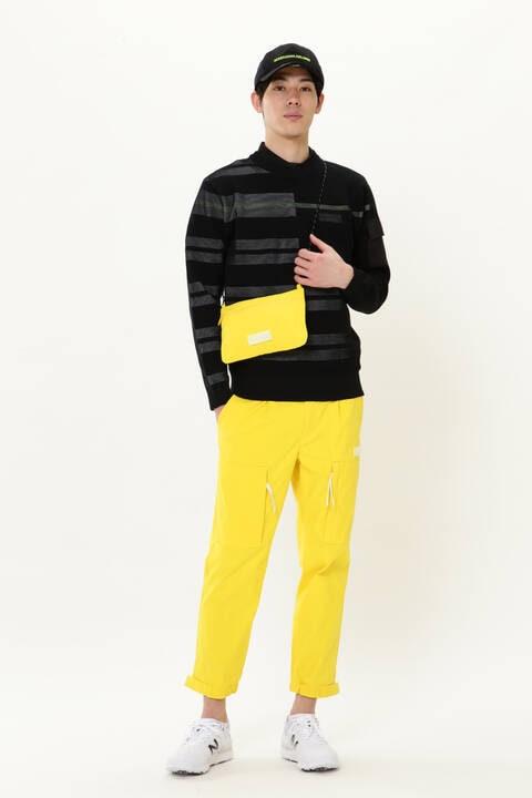 【直営店舗限定】サコッシュ付8分丈ジョガーパンツ (MENS)