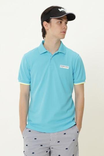 こかげMAX カノコダブルフェイス 半袖 ポロシャツ (MENS METRO)