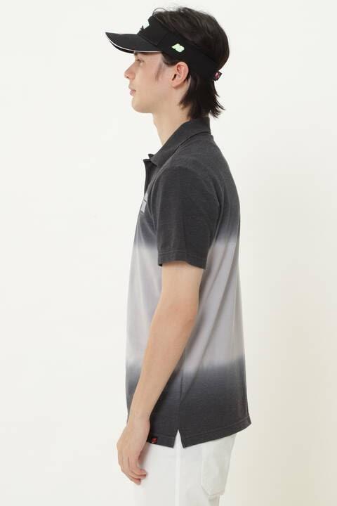 タイダイ染め カノコ 半袖 ポロシャツ (MENS METRO)