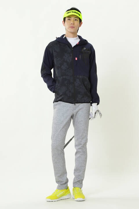 COOLMAX 半袖 モックネック プルオーバー (MENS SPORT)