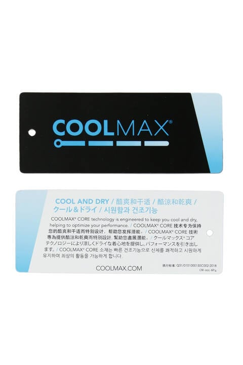 COOLMAX 半袖 モックネック プルオーバー (WOMENS SPORT)