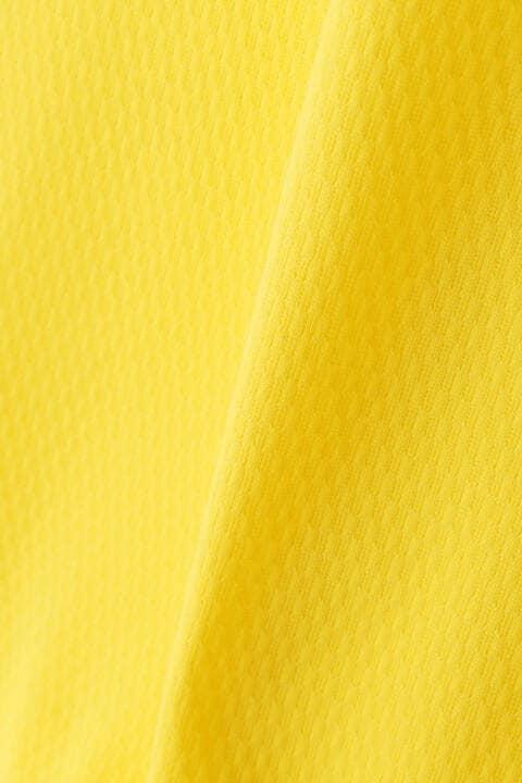 ストレッチパイナップルピケ 半袖 ハーフジップ シャツ (WOMENS SPORT)