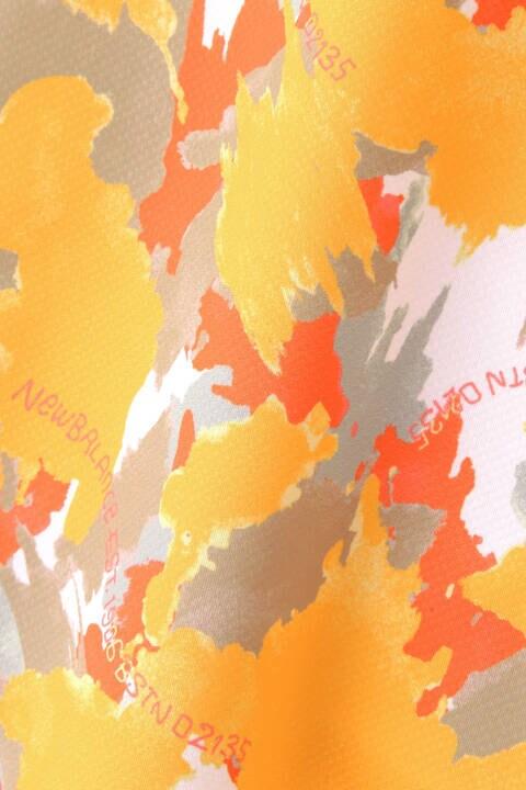 【直営店舗限定】ペイントウォールプリント ラッフルスリーブ モックネック プルオーバー (WOMENS METRO)