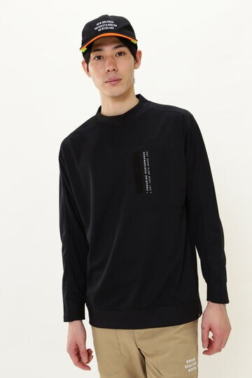 【直営店舗限定】DRYMASTER 長袖 モックネック プルオーバー (MENS)