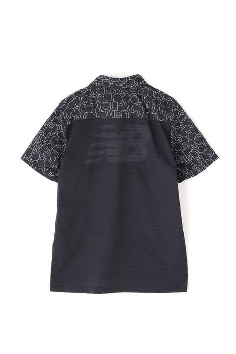 シアサッカー×メッシュ 半袖 カラーシャツ (MENS SPORT)