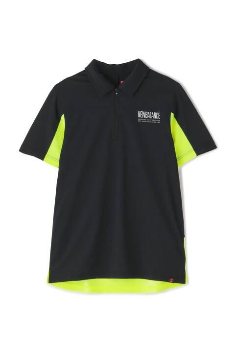 ストレッチパイナップルピケ 半袖 カラーシャツ (MENS SPORT)