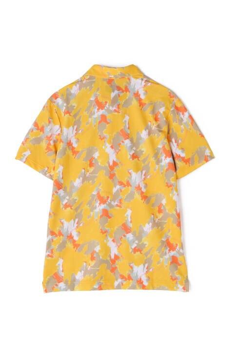 ペイントウォールプリント 半袖 カラーシャツ (MENS METRO)