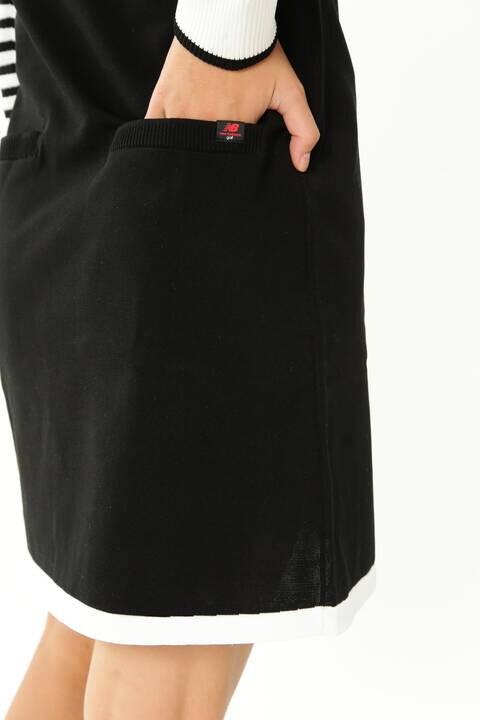 FREEMOVE 長袖 モックネック ニット ワンピース (WOMENS SPORT)