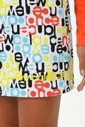 ストレッチサテンピーチ スカート (WOMENS SUNNY PAC)