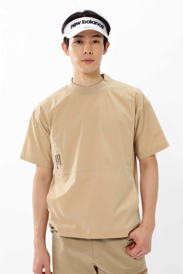 【直営店舗限定】半袖 モックネック プルオーバー (MENS)