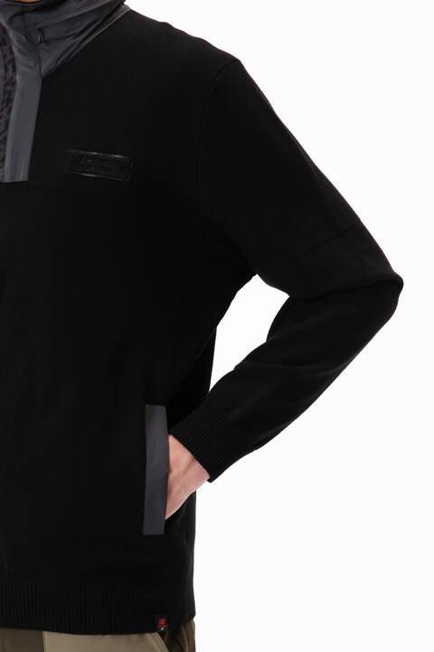【直営店舗限定】ハイブリッド ニット プルオーバー フーディー (MENS)