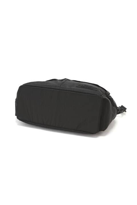バスケットクロス×リップストップ 保温保冷ポケット付き ボストンバッグ (UNISEX SPORT)
