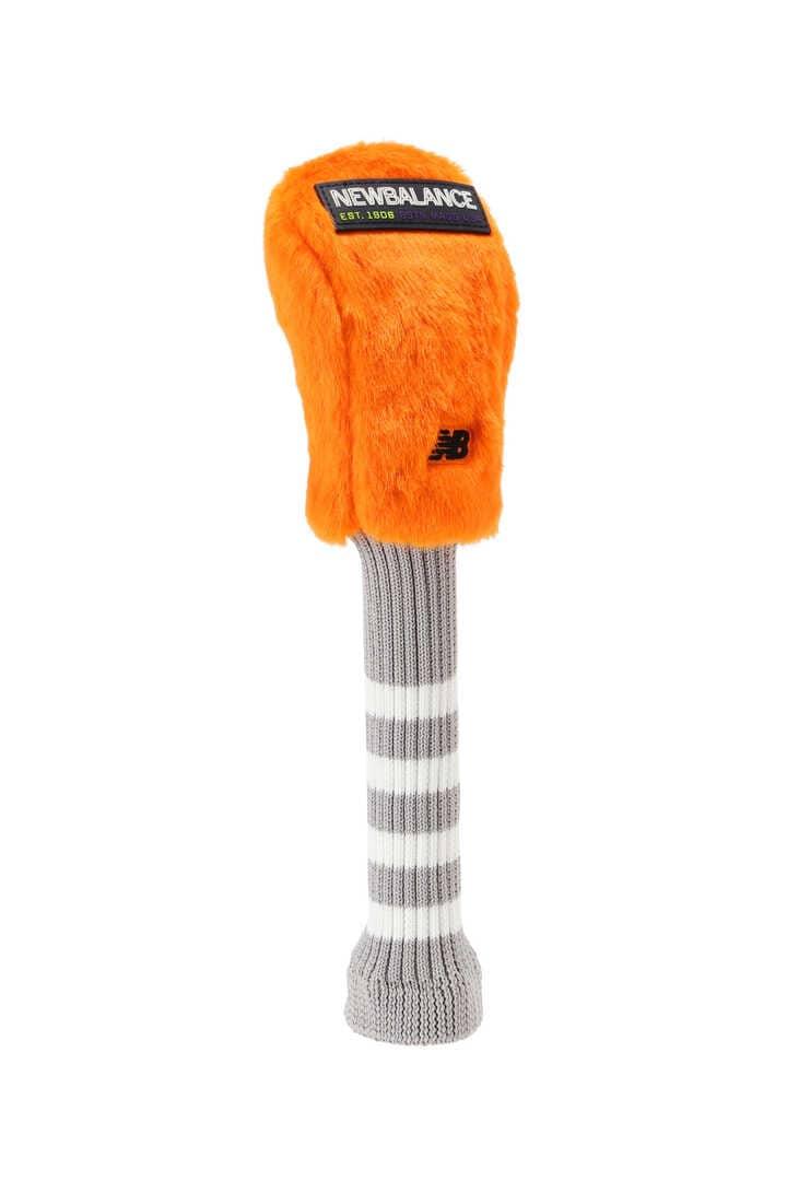 ストレッチボア×ボーダーリブ ユーティリティ用 ヘッドカバー (UNISEX METRO)