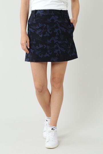 カモフラロゴジャガードスカート (WOMENS)