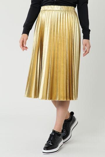 耐久箔プリントプリーツスカート (WOMENS)