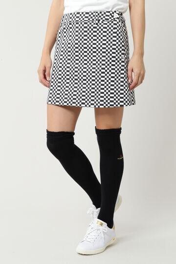 ツイルブロックチェックプリントスカート(WOMENS)