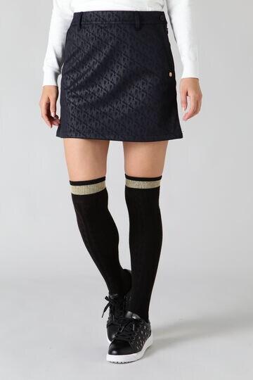 STAエンボス モノグラムボンディングスカート (WOMENS)