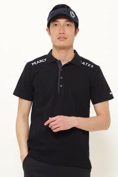リンクスビッグチェック×軽量高密度タフタ 半袖 ポロシャツ <ESSENTIAL>