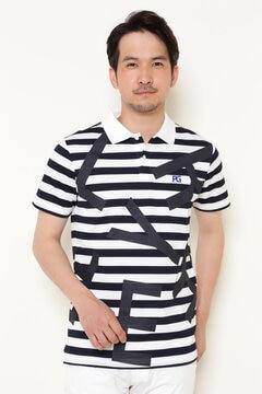 ドライマスター 変形 カノコ 半袖 ポロシャツ <OUT LOGO SERIES>