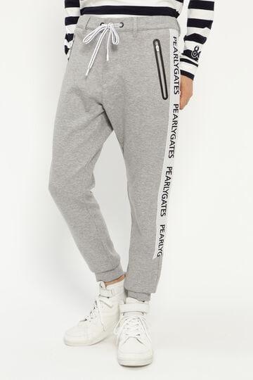 テックフリース ジョガー風パンツ