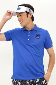 引揃え タック カノコ 半袖 ポロシャツ