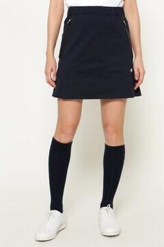 TEXBRID 天竺 ペプラム プリーツ スカート