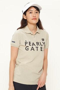 サッカー2段ロゴ 半袖 ポロシャツ