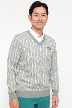 【石川プロ着用】Vネックニット (MENS)