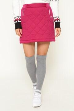 STAR STRETCH スムース中綿スカート (WOMENS)