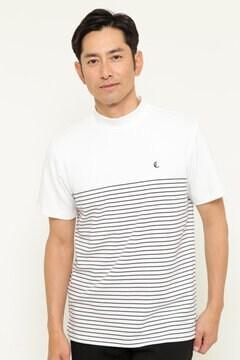 CALLAWAY RED LABEL 半袖モックネックシャツ (MENS)