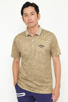 【オンラインストア限定同生地マスク付】クールコアレタードプリントシャツ  (MENS)
