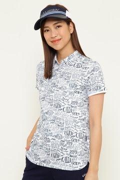【オンラインストア限定同生地マスク付】クールコアレタードプリントシャツ  (WOMENS)