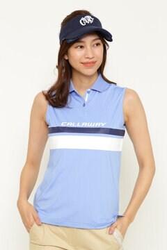 CALLAWAY ノースリーブポロシャツ (WOMENS)